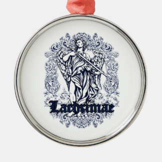lachrimae blue affected design christmas ornament