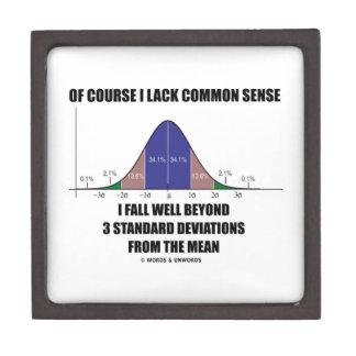 Lack Common Sense Fall Well Beyond 3 Std Devs Premium Gift Boxes