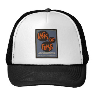 Lack Of Funds - 1939 Mesh Hats
