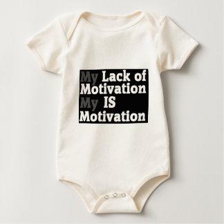 Lack Of Motivation Baby Bodysuit