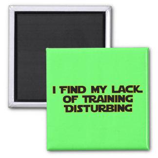 Lack of Training Magnet