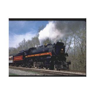 Lackawana (ex CP) 4-6-2 #2317, 1986_Trains Canvas Print