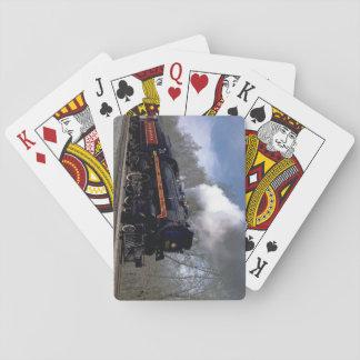 Lackawana (ex CP) 4-6-2 #2317, 1986_Trains Card Decks