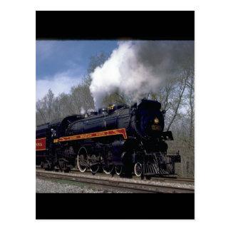 Lackawana (ex CP) 4-6-2 #2317, 1986_Trains Postcard