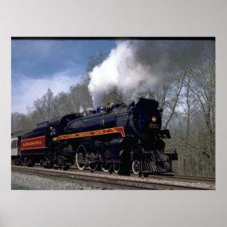 Lackawana (ex CP) 4-6-2 #2317, 1986_Trains Poster