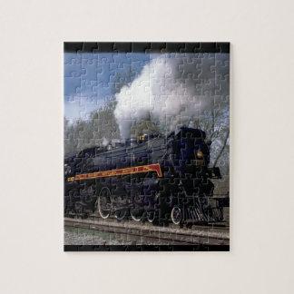 Lackawana (ex CP) 4-6-2 #2317, 1986_Trains Puzzle