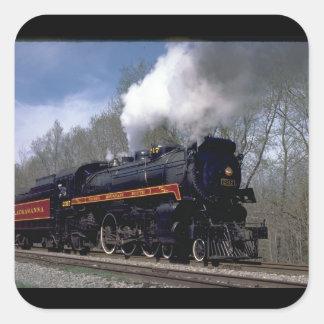 Lackawana (ex CP) 4-6-2 #2317, 1986_Trains Square Sticker