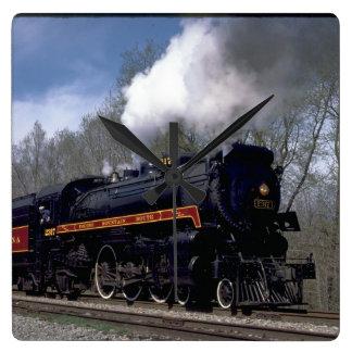 Lackawana (ex CP) 4-6-2 #2317, 1986_Trains Square Wall Clock