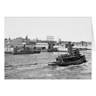 Lackawana Railroad Docks Card