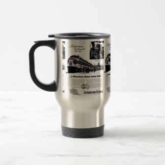 Lackawanna Railroad Centennial 1951 Travel Mug