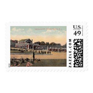 Lackawanna RR Station, Montclair NJ Vintage Stamp