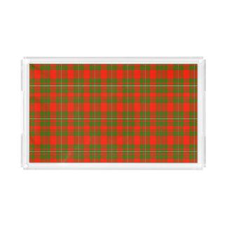 Lackey Scottish Tartan Rectangle Serving Trays