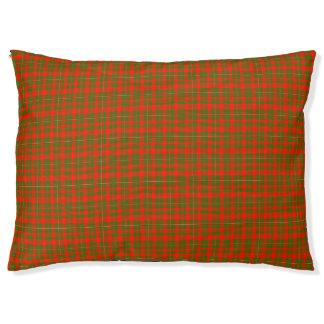 Lackey Scottish Tartan Large Dog Bed