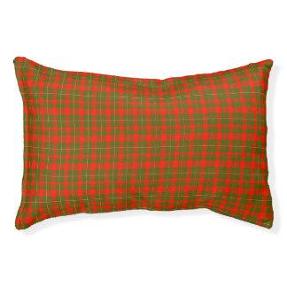 Lackey Scottish Tartan Small Dog Bed