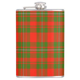 Lackey Scottish Tartan Hip Flask