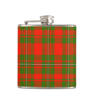 Lackey Scottish Tartan Flask