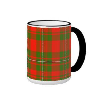 Lackey Scottish Tartan Ringer Coffee Mug