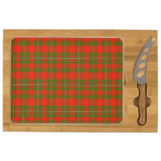 Lackey Scottish Tartan Rectangular Cheeseboard