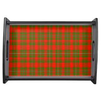 Lackey Scottish Tartan Service Trays