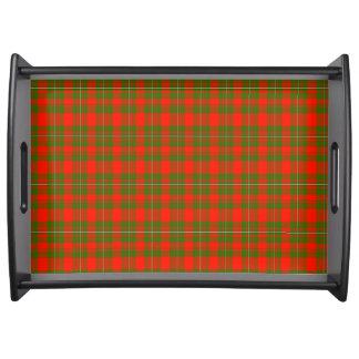 Lackey Scottish Tartan Service Tray