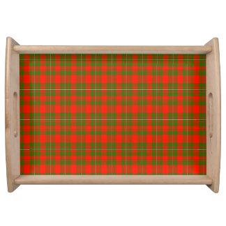 Lackey Scottish Tartan Food Tray