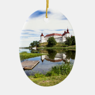 Läckö castle ceramic ornament