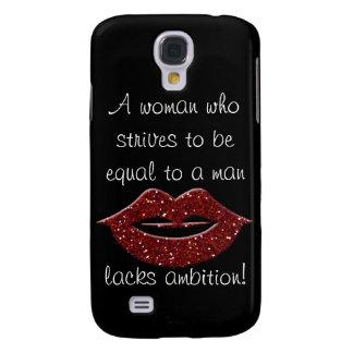 Lacks Ambition! Samsung Galaxy S4 Case