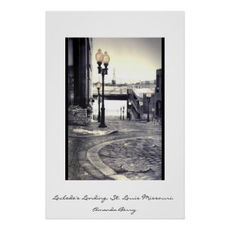 Laclede's Landing Poster