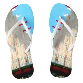 LACMA Museum Fine Art Photography Flip Flops