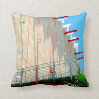 LACMA Museum Fine Art Photography Throw Pillow