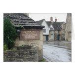 Lacock, Wiltshire, Reino Unido Felicitación