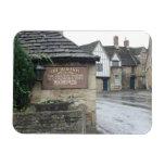 Lacock, Wiltshire, Reino Unido Iman De Vinilo