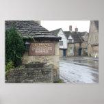 Lacock, Wiltshire, Reino Unido Impresiones