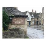 Lacock, Wiltshire, Reino Unido Tarjeta Postal