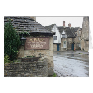Lacock, Wiltshire, UK Card
