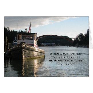 LaConner Tugboat Card