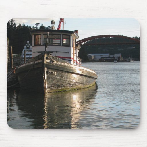 LaConner Tugboat Mouse Pad