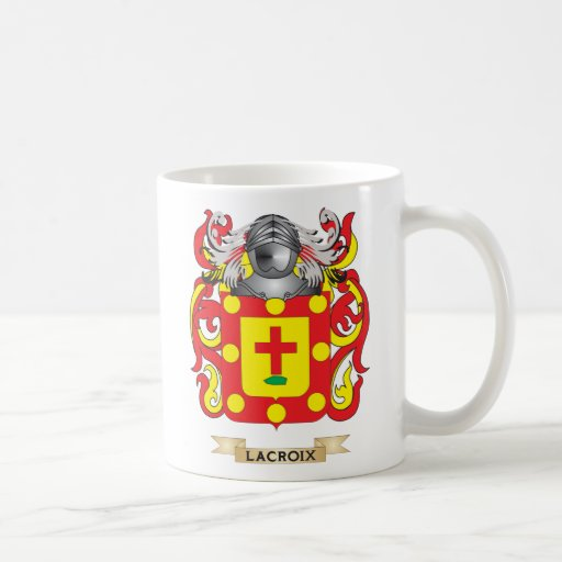 Lacroix Coat of Arms (Family Crest) Classic White Coffee Mug