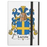 Lacroix Family Crest iPad Case