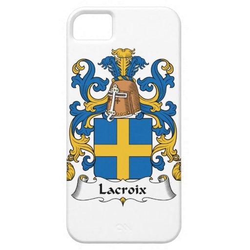Lacroix Family Crest iPhone 5 Cases
