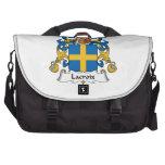 Lacroix Family Crest Laptop Messenger Bag