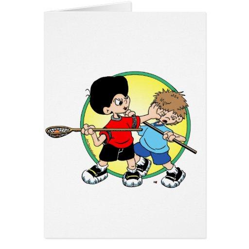 Lacrosse #2 card
