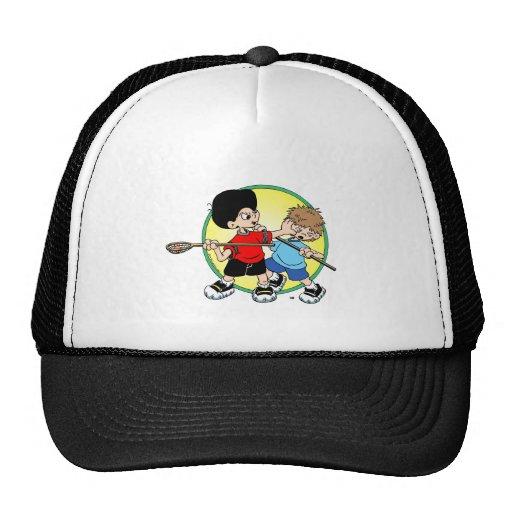 Lacrosse #2 trucker hat