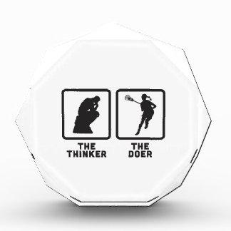Lacrosse Acrylic Award