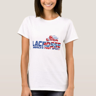 Lacrosse America's First Sport Gear T-Shirt