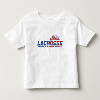 Lacrosse America's First Sport Gear Toddler T-shirt