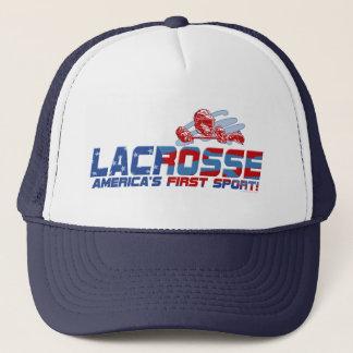 Lacrosse America's First Sport Gear Trucker Hat