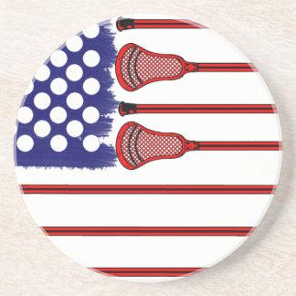 Lacrosse Americas Game Coaster
