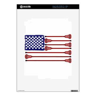 Lacrosse Americas Game iPad 2 Skin