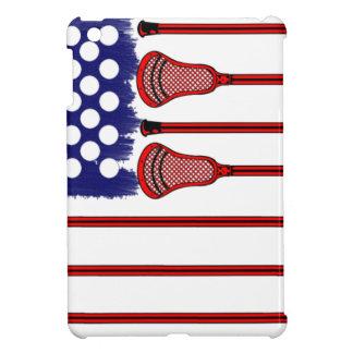 Lacrosse Americas Game iPad Mini Cover